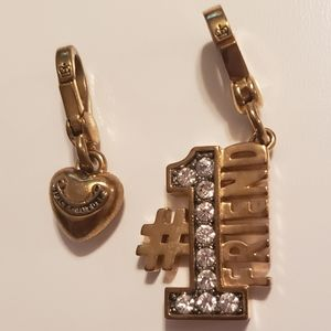 Juicy Couture Charms 2pc